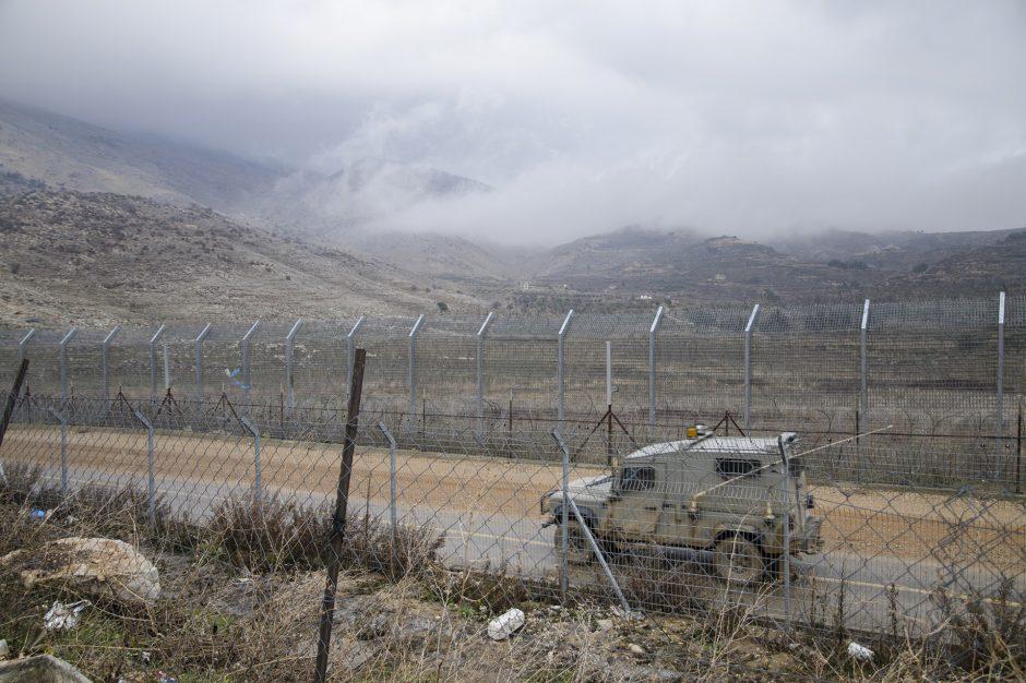 Lungo il confine conteso tra Israele e Siria, Altopiano del Golan